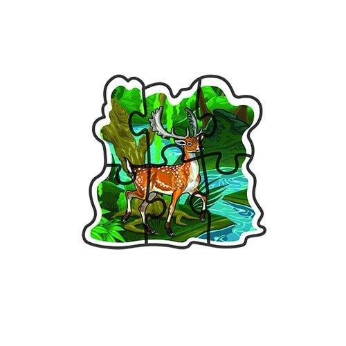 بازل حيوانات الغابة 5 مجموعات – فلافي بير