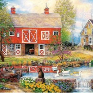 Chuck Pinson. Countryside Life Puzzle 2000 pieces Trefl
