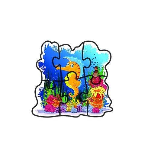 early sea world 5 puzzle sets – fluffy bear