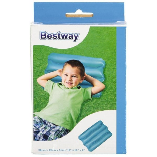 inflatable pillow available in 4 colours bestway
