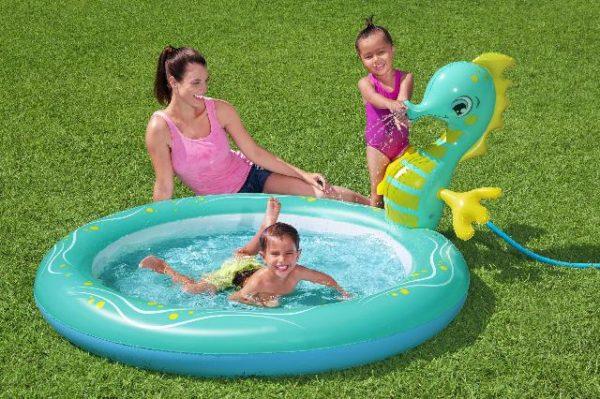 swimming pool seahorse 188x160x86cm
