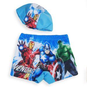 Avengers Swimsuit Baby Blue MG