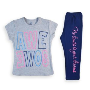 Awesome Pajama Grey Katy