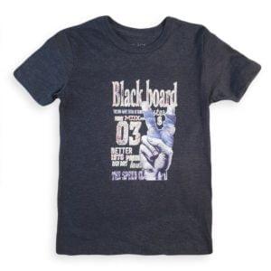 Black Board T-shirt Dark Grey Children Place