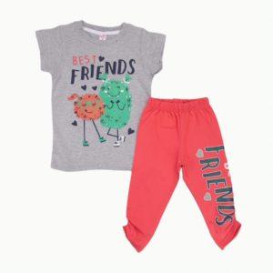 Friends Pajama Grey Sedra
