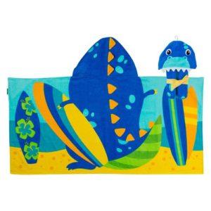 Hooded Towel Dino
