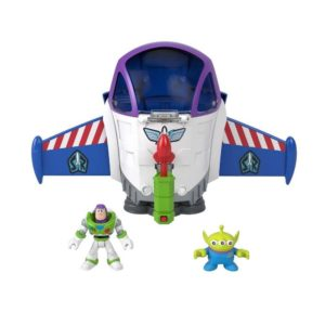 Imaginext Pixar Toy Story Buzz Lightyear Space Mission Playset Disney