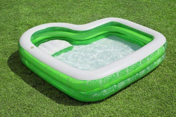 tropical paradise swimming pool 231 x 231 x 51 cm bestway