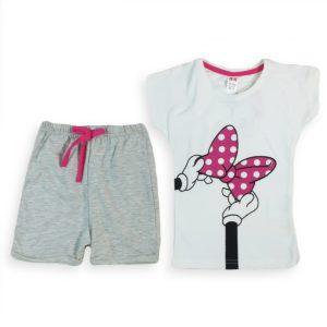 Minnie Bowtie Pajama White H&M