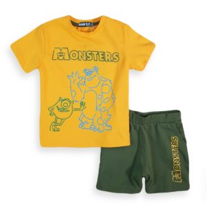 Monsters Pajama Yellow Marvy