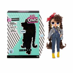 OMG Series 2 Busy B.B. Fashion Doll with 20 Surprises LOL Surprise