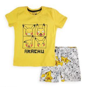 Pikachu Pajama Yellow Leo