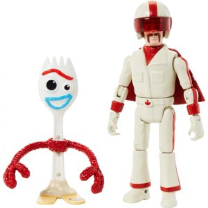 Pixar Toy Story Forky y Duke Caboom Figuras Disney