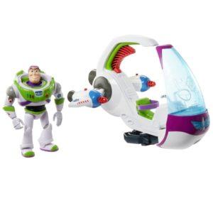 Pixar Toy Story Galaxy Explorer Spacecraft Transforming Vehicle & Figure Disney