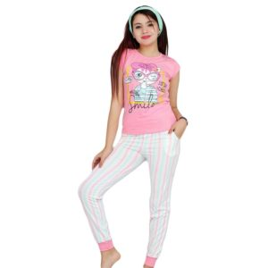 Smile Pajama Pink MN