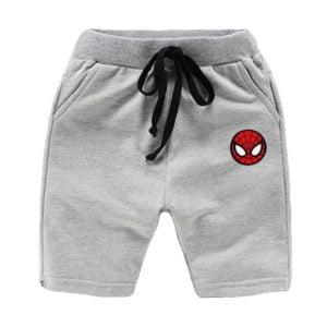 Spider Man Short Grey Indigo