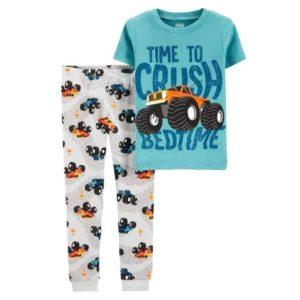 Spinner Time Pajama Dark Mint