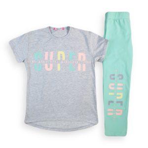 Super Pajama Light Gray Toddler Kids