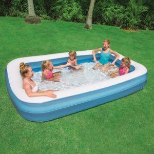 Swimming Pool Rectangular 305x183x46cm Blue Bestway