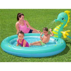 Swimming Pool Seahorse 188x160x86cm, Sprinkler Bestway