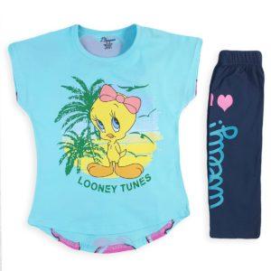 Tweety Pajama Light Blue Banana