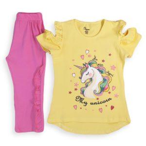 Unicorn Pajama Yellow Banana
