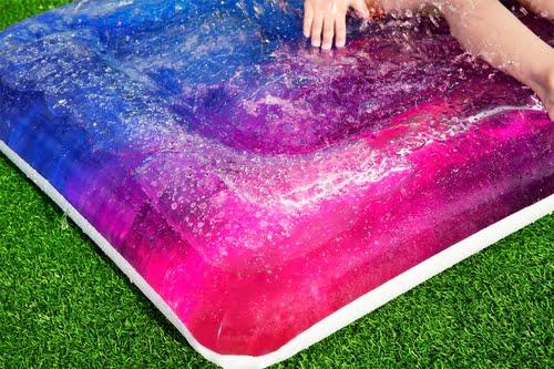 water mattress galaxy blobz
