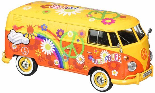 volkswagen type 2 (t1) delivery van with flower