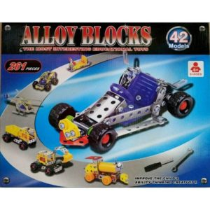 Alloy Blocks with 42 Models and 261 PCS
