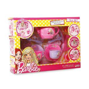 Barbie Tray Tea Set For Girls - 17 Pieces Dede