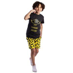 Batman Pajama Black Leo