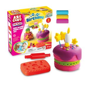 Birthday play dough set 150 GR Dede