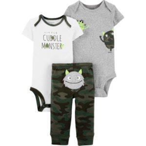 Carters Cuddle Monster Set