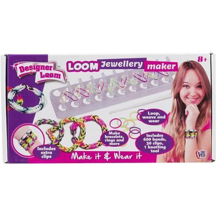 Designer Loom Jewellery Maker Bracelet, 500 Pieces
