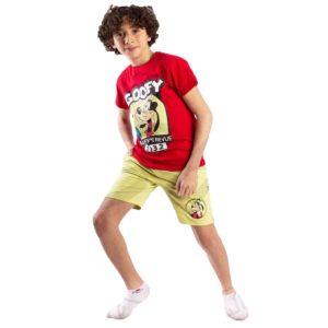Goofy Pajama Red Leo