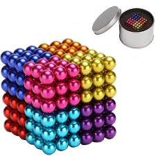 colored balls 216pcs magnetic