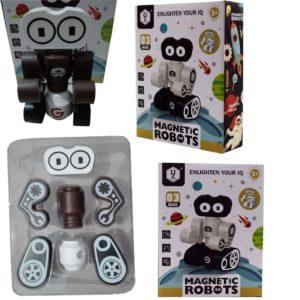 magnetic robot creative building blocks