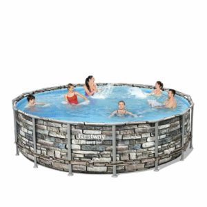 Power Steel 4.88m x 1.22m Pool Set
