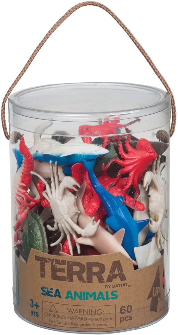 Sea Animals Toy in a Tube