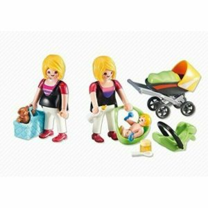 Add-On Series - Pregnant Mother with Baby Playmobil