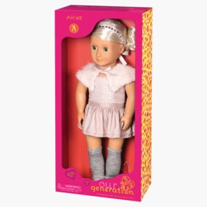 Alexa-Doll with Ballet Dress and Capelet Doll, 18 Our Generation