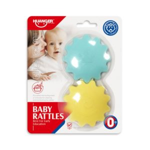 Baby Rattles Stars Huanger