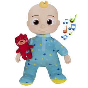 Bedtime Musical Cocomelon JJ Doll with a Soft Plush Tummy and Swivel Head