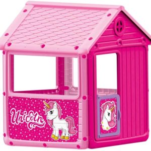 Dolu – My First House Unicorn Themed Playhouse – Indoor or Outdoor Game for Children