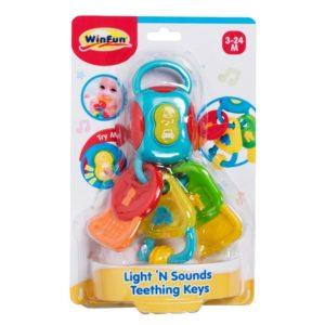 Light 'N Sounds Teething Keys
