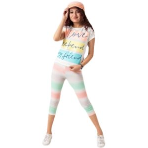 Love Pajama White Toddler