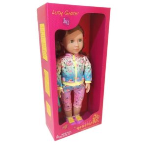 Lucy Grace Yoga Outfit Doll Our Generation