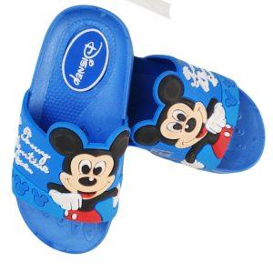 Mickey Kids Slipper Blue