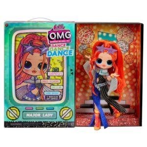 OMG Dance Dance Dance Major Lady Fashion Doll With 15 LOL Surprise