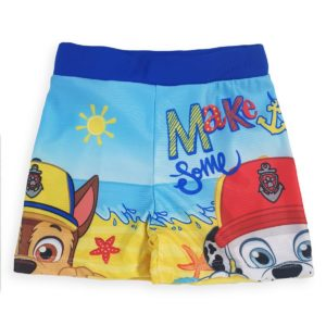 Paw Patrol Swimsuit Light Blue Nickelodeon